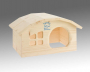 Dwarf house for hamster 2x12x10 cm