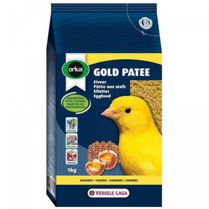 Orlux Gold Patee Canaries by Versele Laga 1 kg, 250 g, 5 kg buy online