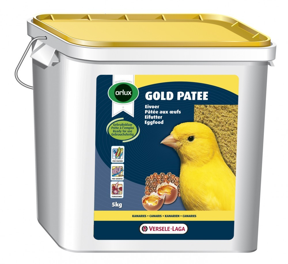 Versele Laga Orlux Gold Patee Canários 5 kg, 250 g, 1 kg