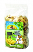 JR Farm Bananen-Chips 150 g