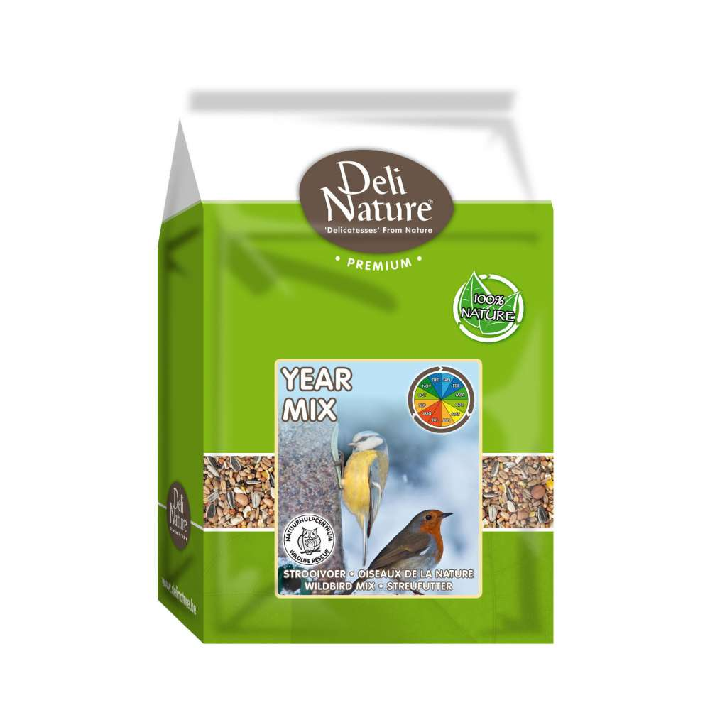 Deli Nature Streufutter Year Mix 20 kg