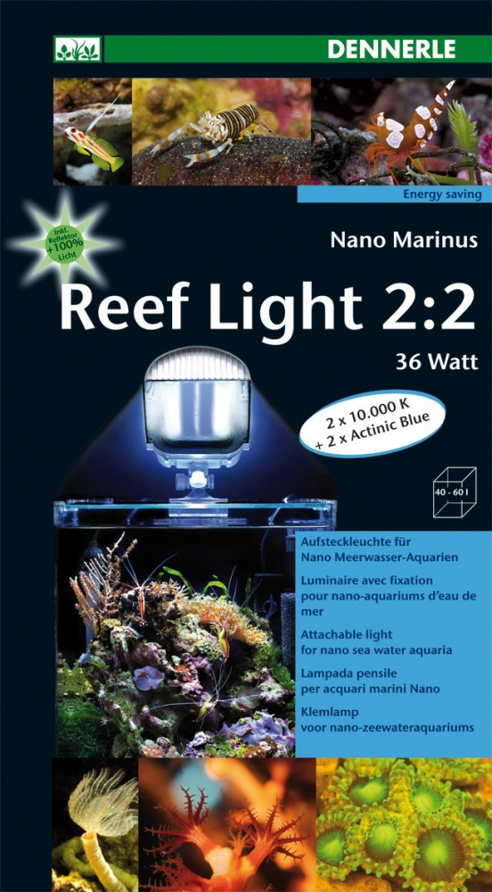 Dennerle Nano Marinus Reef Light 36 W  met korting aantrekkelijk en goedkoop kopen