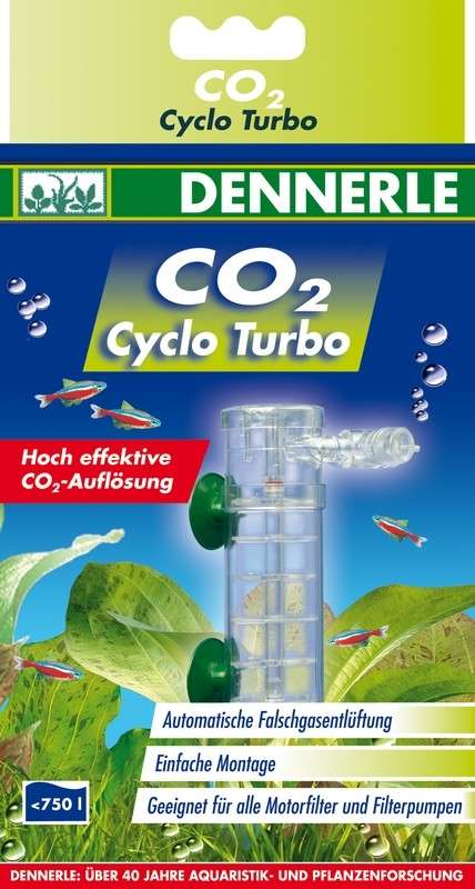 Dennerle Profi-Line CO2 Cyclo Turbo   met korting aantrekkelijk en goedkoop kopen