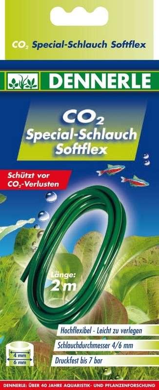 Dennerle Speciale CO2 - slang softflex 2m   met korting aantrekkelijk en goedkoop kopen