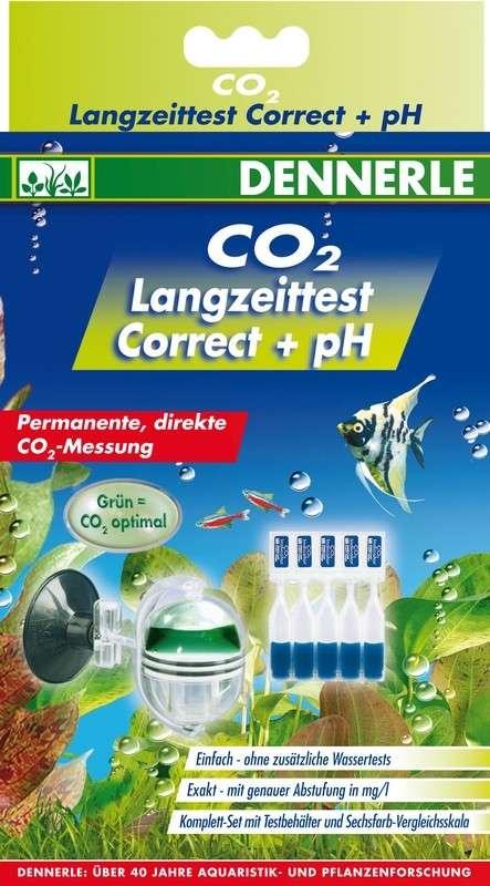 Dennerle CO2 - Langetermijntest Correct + PH   met korting aantrekkelijk en goedkoop kopen