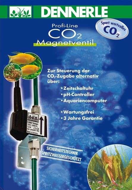 Dennerle CO2 - Magneetventiel 1.6 W  met korting aantrekkelijk en goedkoop kopen