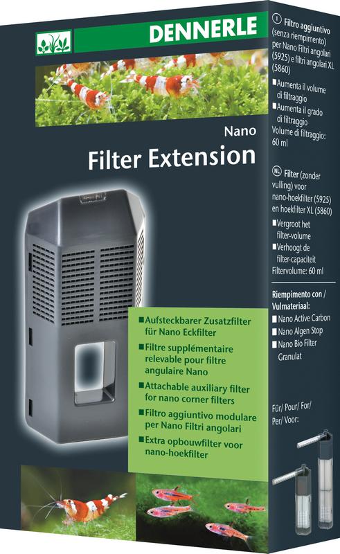 Dennerle Nano Filter Extension   met korting aantrekkelijk en goedkoop kopen