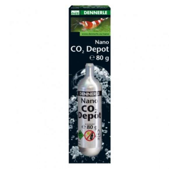 Dennerle Nano CO2 - Depot 80 g  met korting aantrekkelijk en goedkoop kopen