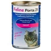 Feline Porta 21 Feline Porta21 Dose Hühnerfleisch pur in ganzen Stücken bestellen zum Toppreis