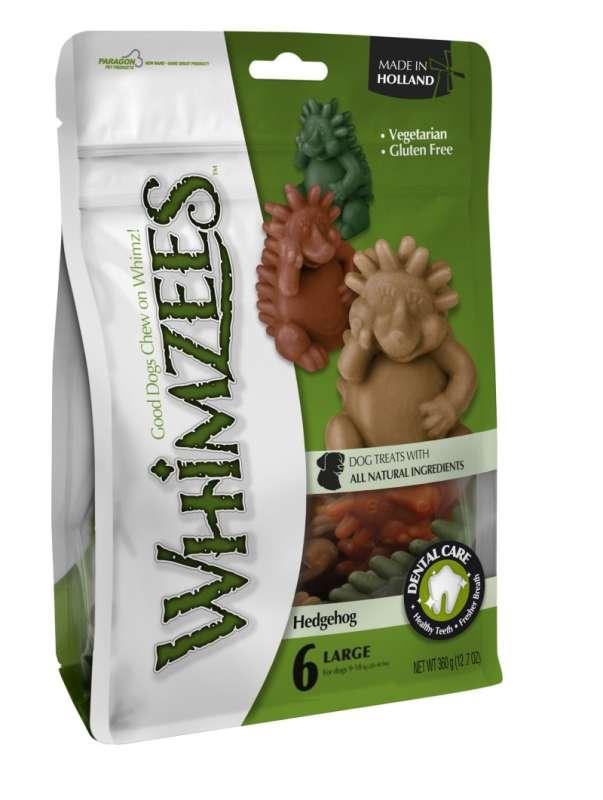 Whimzees Hedgehog storlek L 60 g, 30x60 g, 360 g