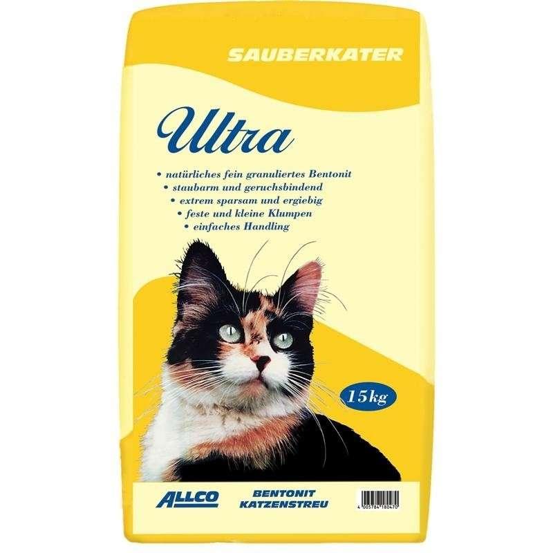 ALLCO Gato limpio Ultra  - Bentonita fina 15 kg