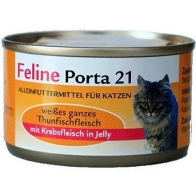 Feline Porta 21 Tuna & Crab 90 g, 400 g, 156 g, 24x156 g test