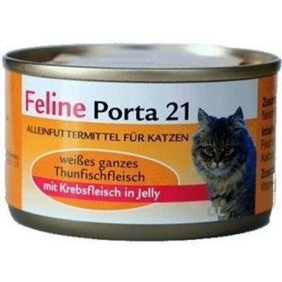 Feline Porta 21 Tonijn met Krab 90 g, 400 g, 156 g, 24x156 g
