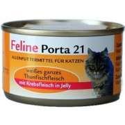Feline Porta 21 Feline Porta 21 - Tuna with Surimi - Grain Free 156 g