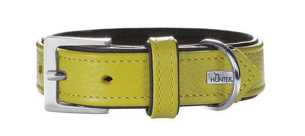 Halsband Capri Grön / Svart 33-39x2.8 cm  från Hunter köp billiga på nätet