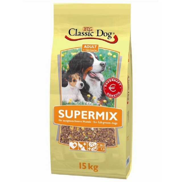 Classic Dog Supermix 15 kg bei Zoobio.at