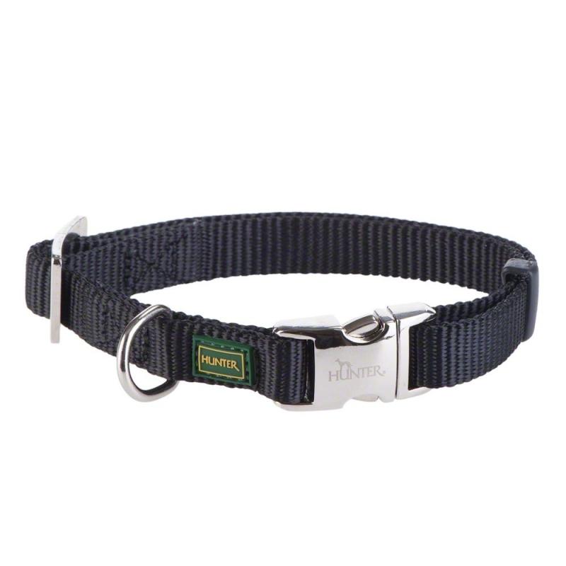 Hunter Halsband Vario Basic Alu-Strong  Zwart S