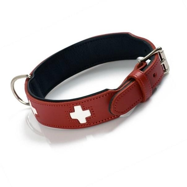 Hunter Collare Swiss  Rosso 56-63.5 cm