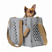 Hunter Carry bag, Country, grey 40x19x30 cm - Dog carrier bags
