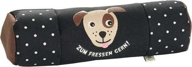 """Hunter Trainer Snack Dummy, Adelheid """"Zum Fressen gern"""", black 20x7x7 cm"""