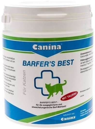 Canina Pharma Barfers Best for Cats 180 g 4027565228058 opiniones