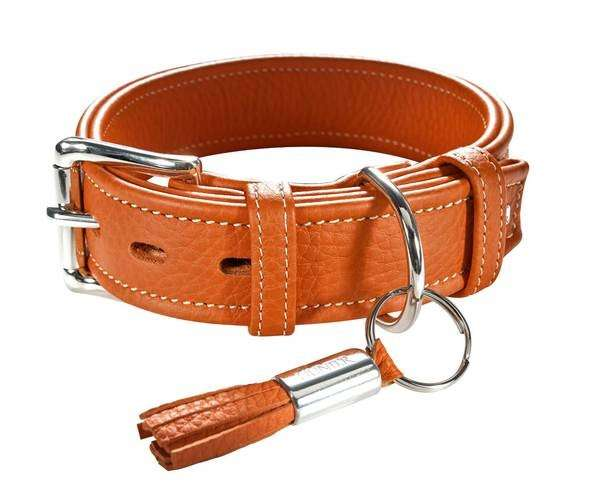 Collar Cannes Orange 39-47x3.5 cm  från Hunter köp billiga på nätet