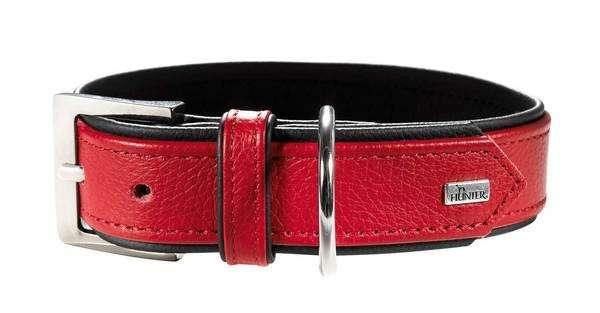 Hunter Halsband Capri Rood / Zwart 33-39x2.8 cm  met korting aantrekkelijk en goedkoop kopen
