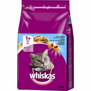 Whiskas Adult 1+ Complete Dry with Tuna 3.8 kg