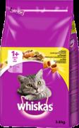 Adult 1+ Pollo 3.8kg   Comida seca para gatos    de Whiskas. ¡Ahorra hasta un 80% ahora!