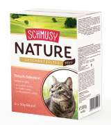 Schmusy Natural Chopped Meat Mini Selection 6x50 g