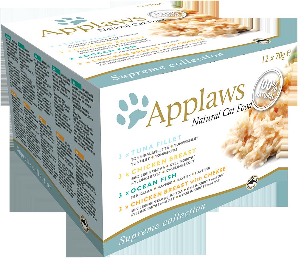 Natural Cat Food Supreme Collection Multipack von Applaws 12x70 g online günstig kaufen