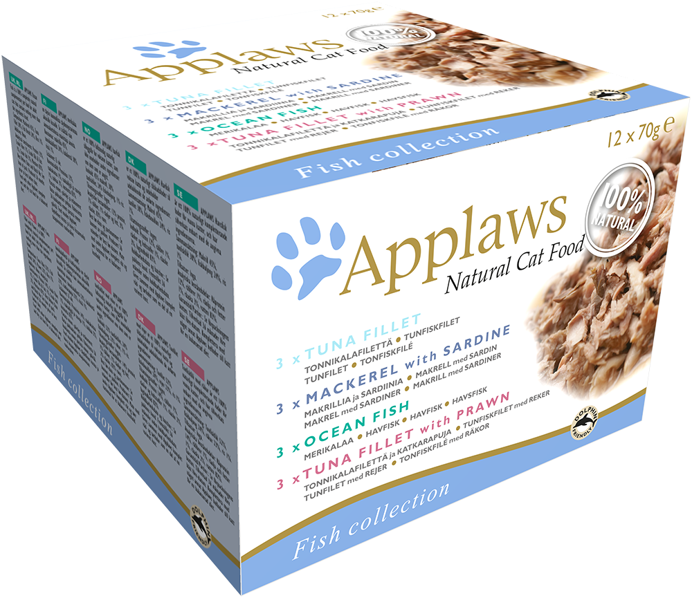 Applaws Natural Cat Food Fisch Collection Multipack 5060333438036