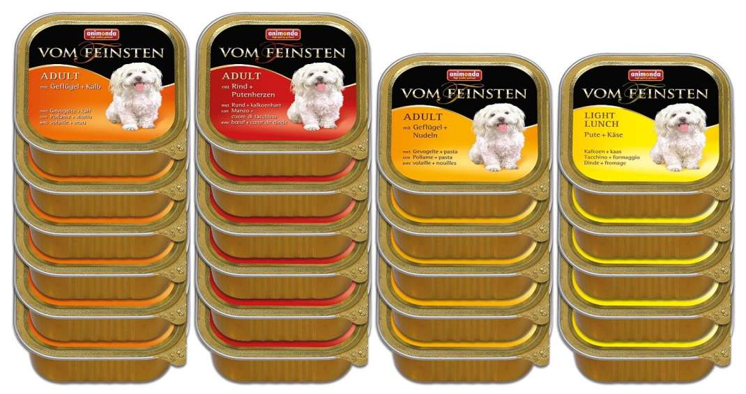 Animonda Vom Feinsten Adult Mix 1 Megapack 22x150 g kjøp billig med rabatt
