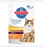 Hill's Science Plan Feline - Adult 1+ Urinary Health Hairball Control au Poulet 85 g