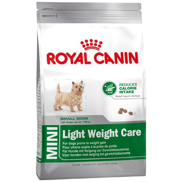 Royal Canin Size Health Nutrition Mini Light Weight Care 3182550709972 kokemuksia