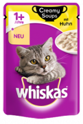 Whiskas Creamy Soups with Chicken in sauce - EAN: 4770608254483