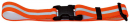Warning Reflecting Strap with Practical Buckle Neon orange