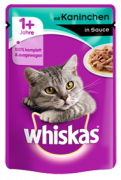 Whiskas Pouch Rabbit in gravy 100 g
