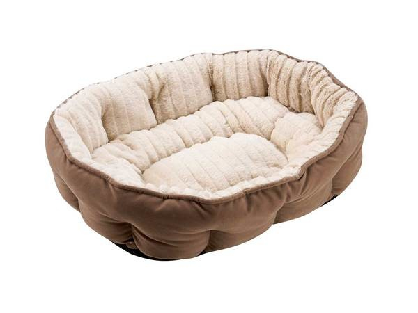 Hunter Cat Bed Wien Taupe Brown 50x35 cm