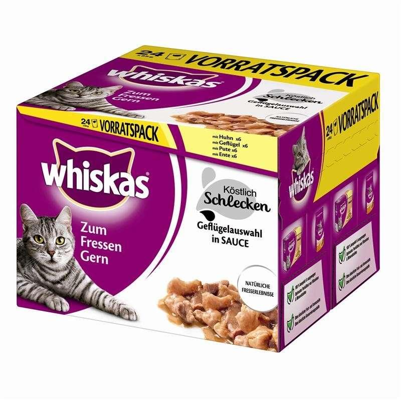 Whiskas Multipack de Aves de Corral Delicioso 24x85 g
