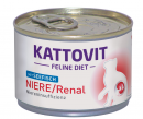 Kattovit Feline Diet Kidney/Renal with Sea Fish 175 g