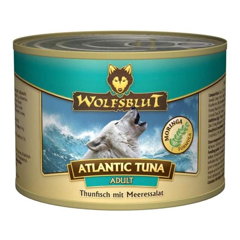 Wolfsblut Atlantic Tuna Adult Atún y lechuga de mar 200 g 4260262763785 opiniones