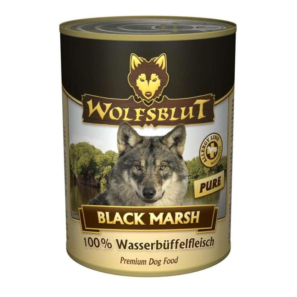Wolfsblut Black Marsh Pure carne de búfalo 395 g