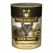 Black Marsh Pure Water buffalo meat 395 g från Wolfsblut