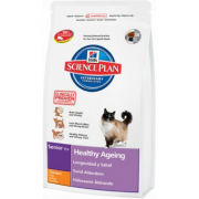 Hill's Science Plan Feline - Senior 11+ Healthy Ageing con Pollo Art.-Nr.: 24336