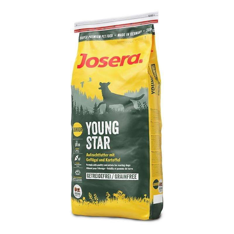 Josera Nature Young Star Junior 900 g, 4 kg, 15 kg, 1.5 kg
