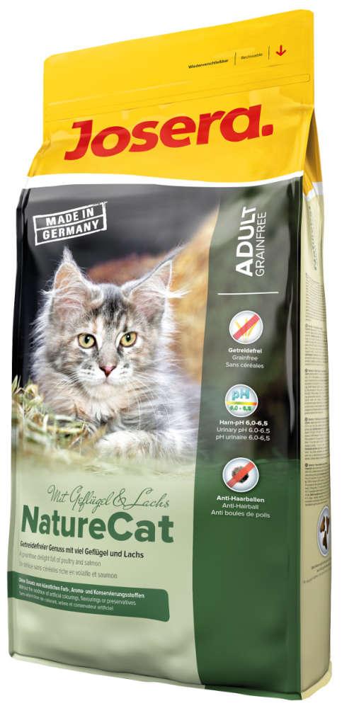 Josera NatureCat Geflügel & Lachs 400 g, 2 kg, 10 kg günstig kaufen
