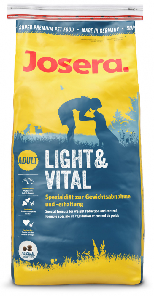 Josera Special Light & Vital 900 g, 4 kg, 15 kg, 1.5 kg