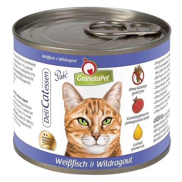 GranataPet DeliCatessen Witvis & Wildragout Paté 200 g
