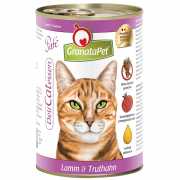 GranataPet DeliCatessen Lamb & turkey pate 400 g